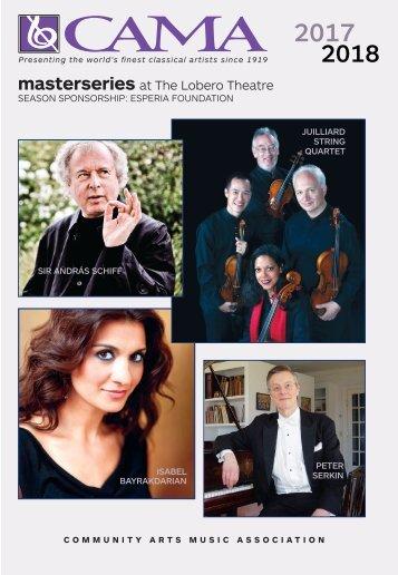 Saturday, May 12, 2018 / Isabel Bayrakdarian, Soprano and St. Lawrence String Quartet / CAMA's Masterseries at The Lobero Theatre, 8:00 PM