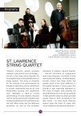 Saturday, May 12, 2018 / Isabel Bayrakdarian, Soprano and St. Lawrence String Quartet / CAMA's Masterseries at The Lobero Theatre, 8:00 PM - Page 6