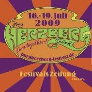 Wie toll - Ihr seid wieder da! - Burg Herzberg Festival