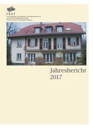 FEST Jahresbericht 2017