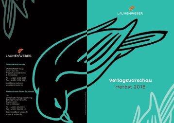 LAUNENWEBER Verlagsvorschau Herbst 2018