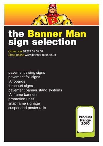125.00 - Banner-man.co.uk Banner-man.co.uk