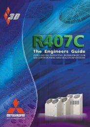 The R407C - Mitsubishi Heavy Industries Ltd.