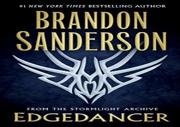 Read book Edgedancer: From the Stormlight Archive