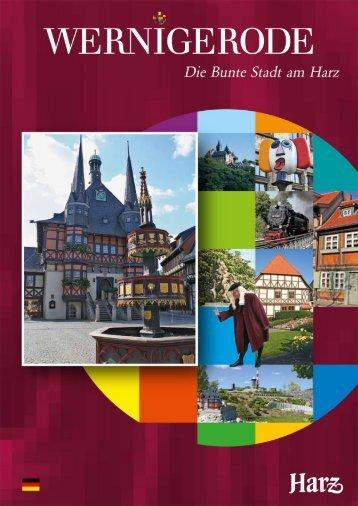 Imagefaltblatt Wernigerode