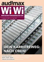 audimax Wi.Wi 6/2018 - Karrieremagazin für Wirtschaftswissenschaftler