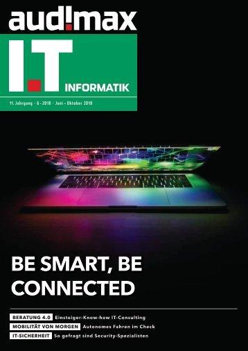 audimax I.T 6/2018 - Karrieremagazin für ITler