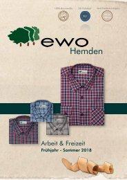 ewo Hemden Katalog Frühjahr / Sommer 2018