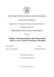 Quality, Nutritional Quality and Nutraceutical value as a New Task ...