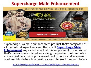 Supercharge Male Enhancement