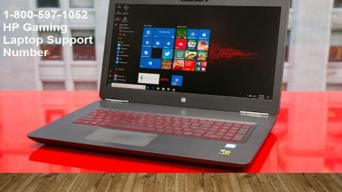 1-800-597-1052 HP Gaming Laptop Support Phone Number