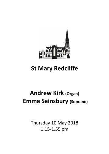 Andrew Kirk & Emma Sainsbury