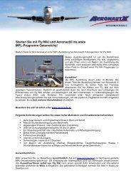 Linienpilotenausbildung (MPL) - Aeronautx