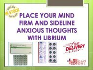 Overcome Anxiety Concerns By Using Librium