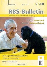 Bulletin Ausgabe Nr. 61 - RBS