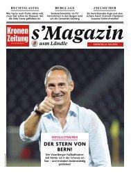 s'Magazin usm Ländle, 8. Mai 2018
