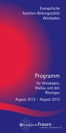 Feiern und Arbeiten am Schlossplatz - Familien-Bildungsstätte ...