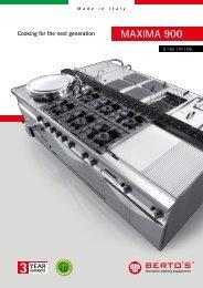 Kochsysteme-Bertos-Maxima900