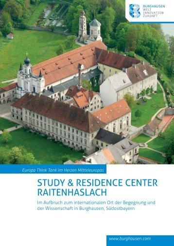 Study & ReSidence centeR RaitenhaSlach