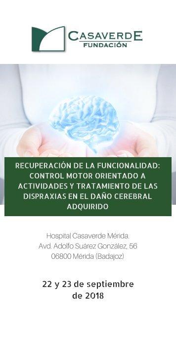 CURSO RECUPERACIÓN DE LA FUNCIONALIDAD: CONTROL MOTOR ORIENTADO A ACTIVIDADES Y TRATAMIENTO DE LAS DISPRAXIAS EN EL DAÑO CEREBRAL ADQUIRIDO