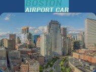 Boston Airport Car