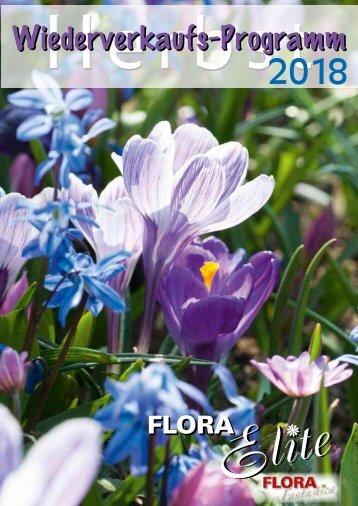 Abbildungen Herbst, Packungen Flora-Elite, Saison 2018
