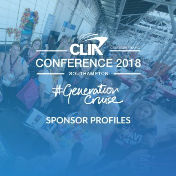 CLIA Conference 2018 Sponsor Profiles