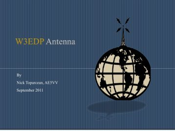 W3EDP Antenna