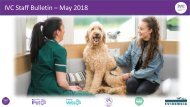 Staff Bulletin - May