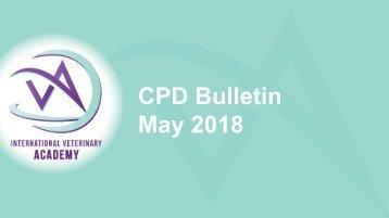 CPD Bulletin May 2018