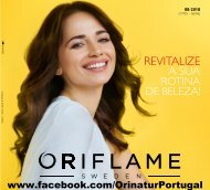 Oriflame - Catálogo 08-2018