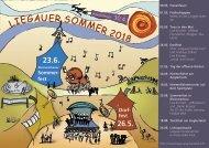 Plakat Liegauer Sommer 2018