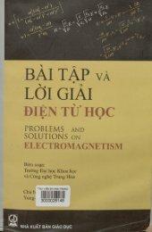 Bài tập và lời giải Điện từ học - Yung-Kuo Lim (Chủ biên)