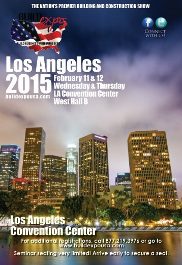 Los Angeles 2015 Build Expo Show Preview Guide