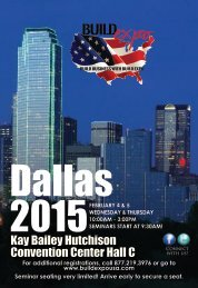 Dallas 2015 Build Expo Show Preview Guide