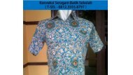 Konveksi Seragam Sekolah Surabaya - 0812.3593.8797