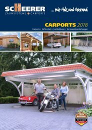 SCHEERER Carports 2018