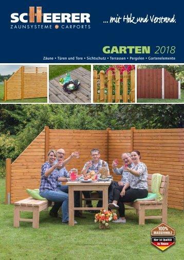 SCHEERER Garten 2018