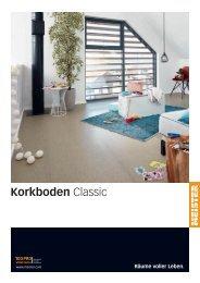 MEISTER Katalog Korkboden Classic 2018