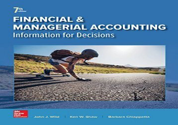 PDF FREE DOWNLOAD  Financial and Managerial Accounting DOWNLOAD ONLINE