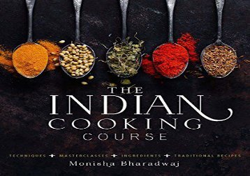 PDF FREE DOWNLOAD  Indian Cookery Course TRIAL EBOOK