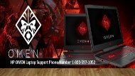 1-800-597-1052 HP Omen Laptop Support Phone Number