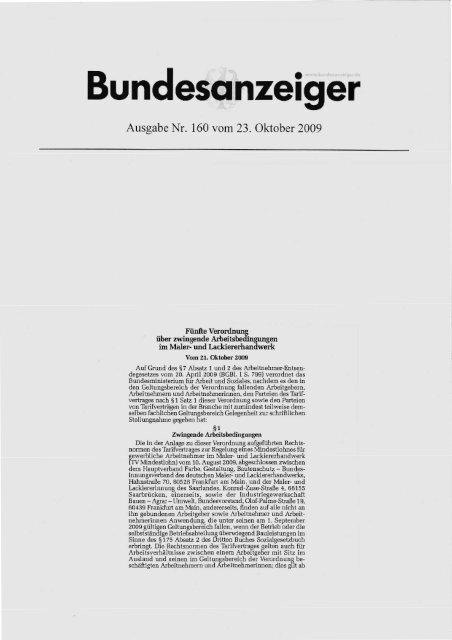 Bundesanzeiger - Bundesverband Korrosionsschutz e.V.