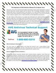 800-683-5215 AVG Antivirus Live Technical Support
