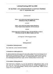 Lohntarifvertrag 2007 bis 2009 - Bundesverband Korrosionsschutz ...