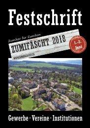 Festschrift Zumifäscht