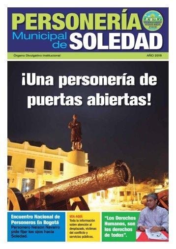 Revista Personería Municipal de Soledad (Edición 1)