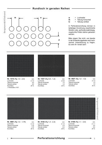 B&H Katalog Rg - Bergmann & Hillebrand