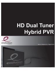 Page 1 HD Dual Tuner Hybrid PVR Page 2 V. HU Uual tuner Hybrid ...