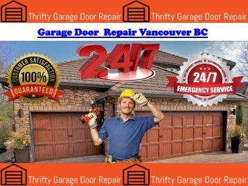 Garage Door Repair Vancouver BC